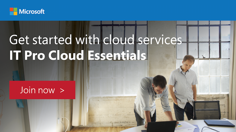 Microsoft IT Pro Cloud Essentials
