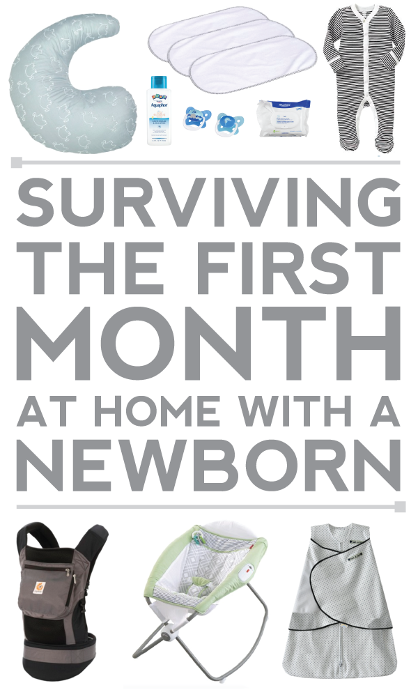 a survival guide for your fist month at home with a newborn via @luvfromafar!