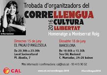Trobada de coordinadors del Correllengua 2016