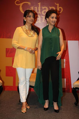 Madhuri Dixit, Juhi Chawla & Anubhav at the launch of 'Believe' campaign for women