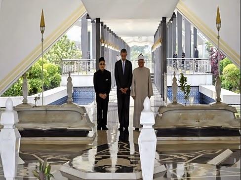 Obama Melawat Masjid Negara.