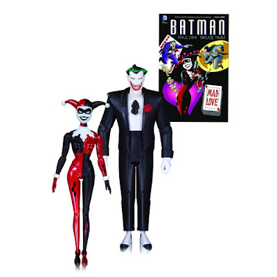 Batman: The Animated Series Mad Love Action Figure 2 Pack - The Joker & Harley Quinn