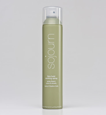 Sojourn, Sojourn Firm Hold Working Spray, Sojourn hairspray, giveaway, beauty giveaway, A Month of Beautiful Giveaways, hair, hairspray, hair spray