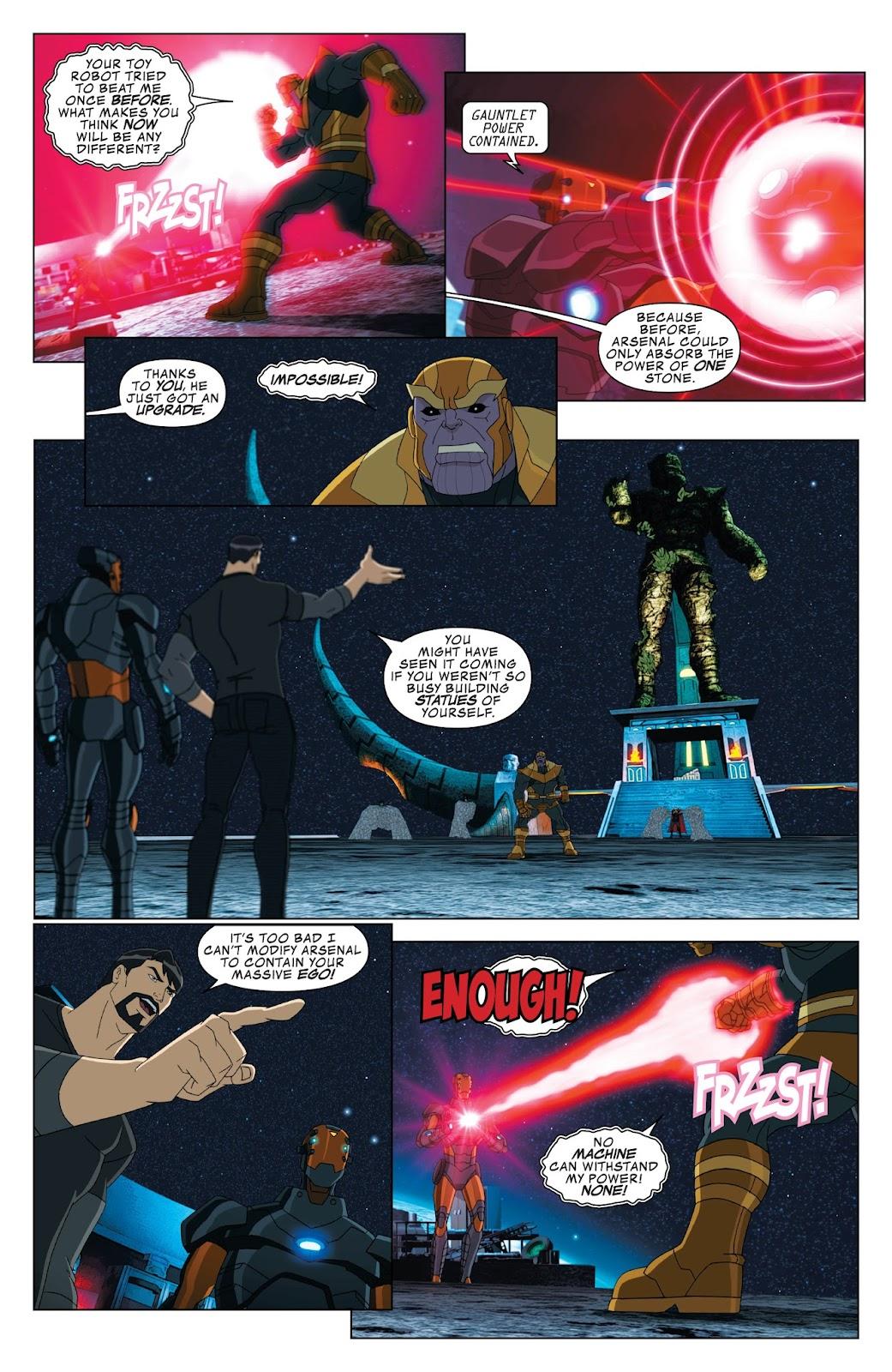 Marvel Universe Avengers Assemble Season 2 Issue #12 #2 - English 19