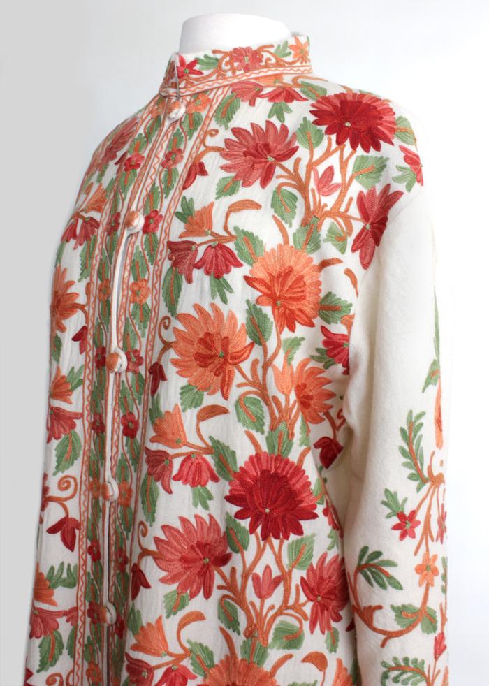 vintage boho folk coat
