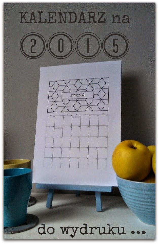 Kalendarz na 2015.