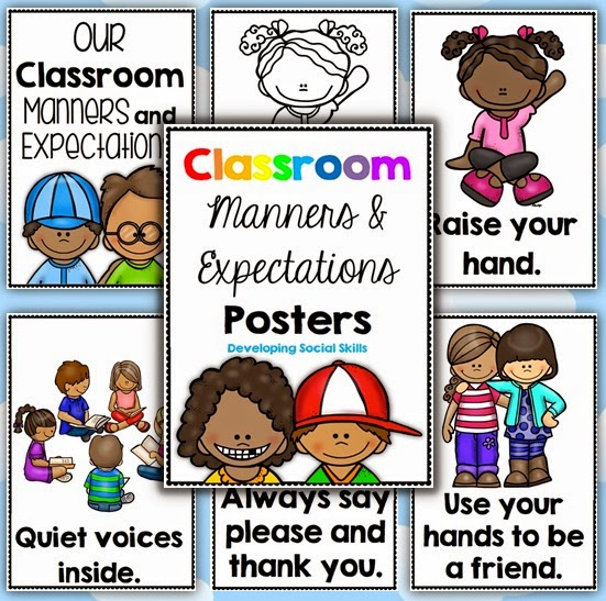 Classroom Manners and Expectations Posters