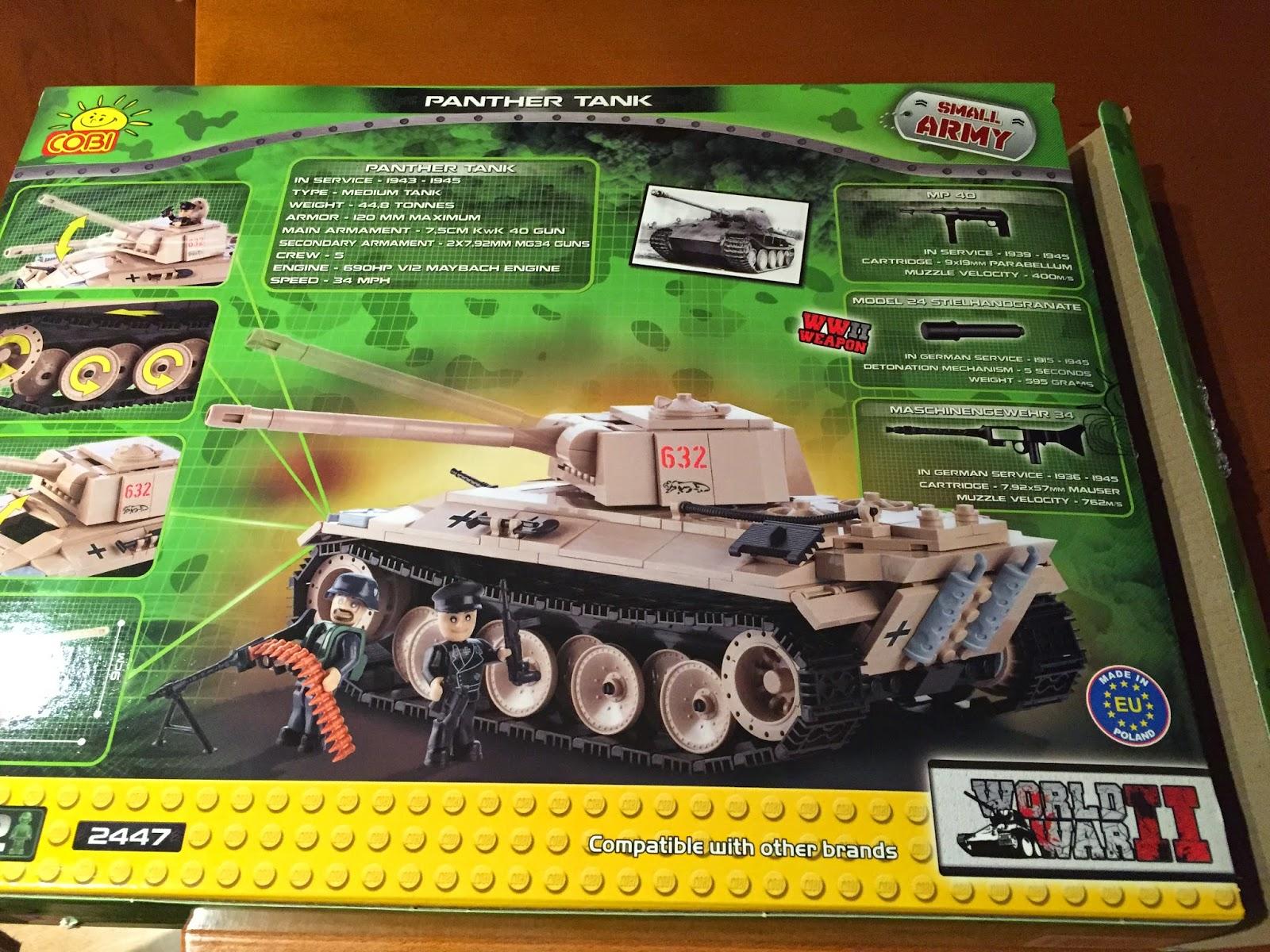 Cobi tanque Panther