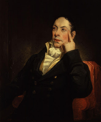 Portrait of Matthew Gregory Lewis by Henry William Pickersgill
