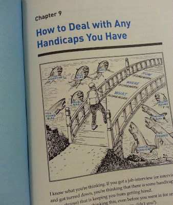 how to deal with handicaps what color is your parachute chapter 9