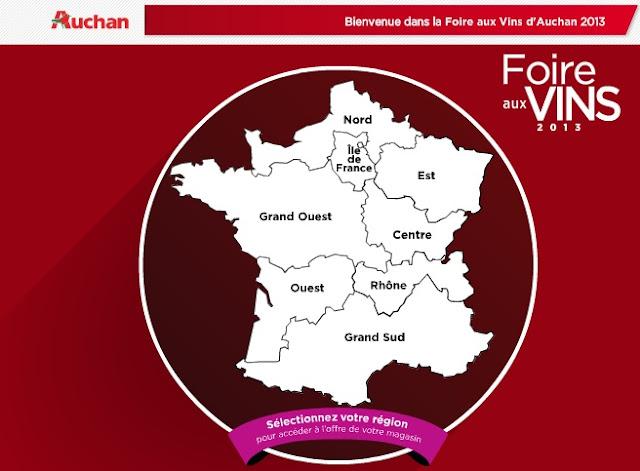 foire aux vins, auchan, vin auchan, foire aux vins auchan, auchan pas cher, foire aux vins 2013, foire aux vins avis