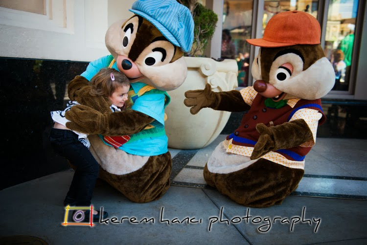 Vivienne was so happy to see the Chipmunks not being able to share her hugs!