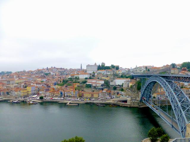 Panorámica de Oporto desde Vila Nova de Gaia