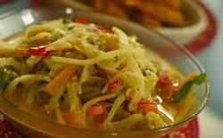 resep praktis dan mudah membuat (memasak) sayur labu siam kuah santan enak, lezat