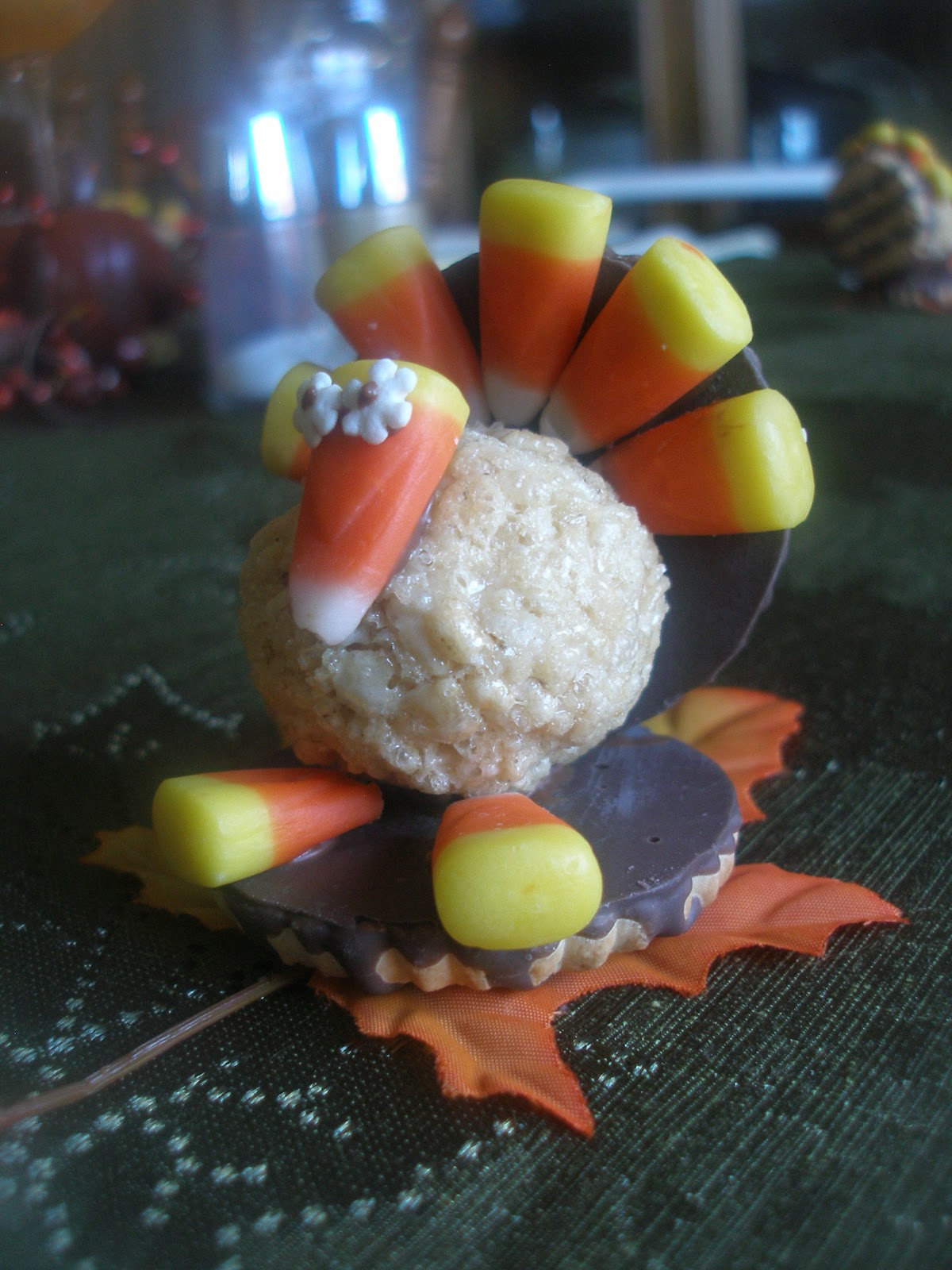 thanksgiving table favors martha stewart