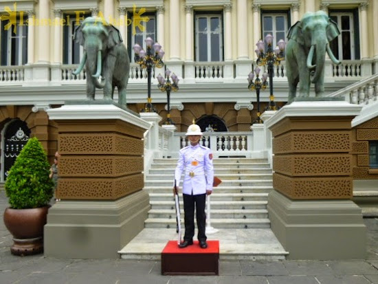 Guard of Bangkok Grand Palace