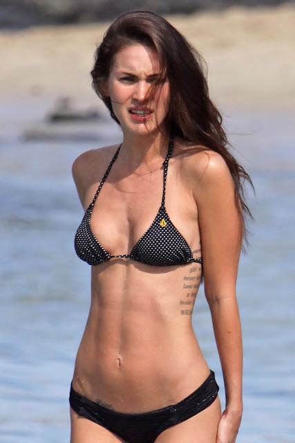 Megan Fox at Beach
