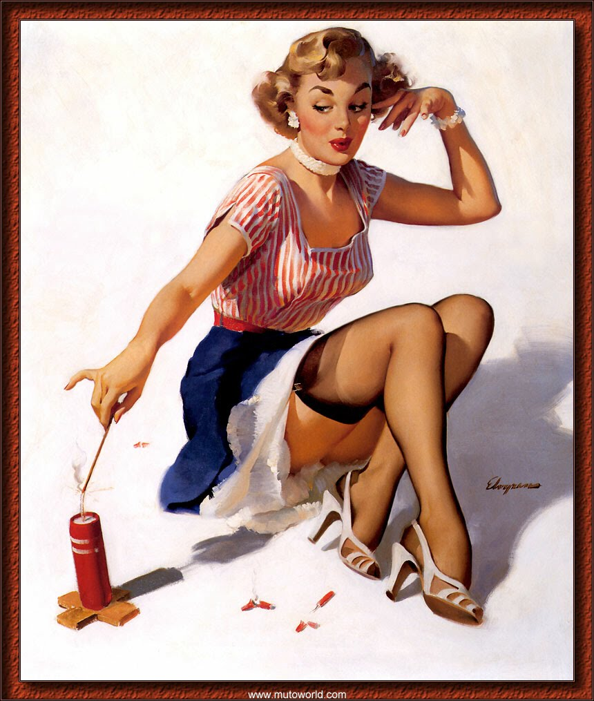 My world in pictures holiday pin ups - Photo pin up ...