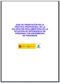 Guía de orientación....dependencia en personas con enfermedad de Parkinson