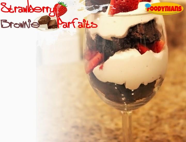 strawberry-brownie-parfaits