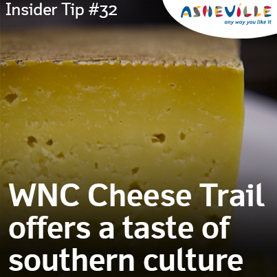 Asheville Insider Tip: The WNC Cheese Trail Offers a Taste of Southern Culture.