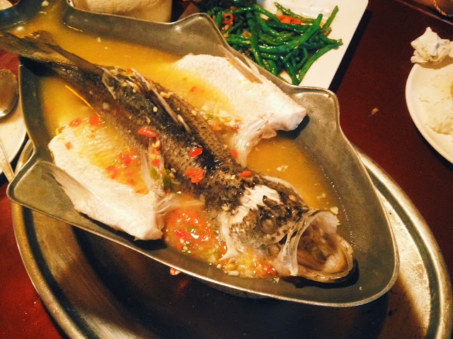 Thai Steamed Tilapia