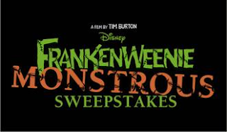 Enter the Frankenweenie Monstrous Sweepstakes