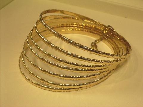 Bamboo Gold Bracelet4