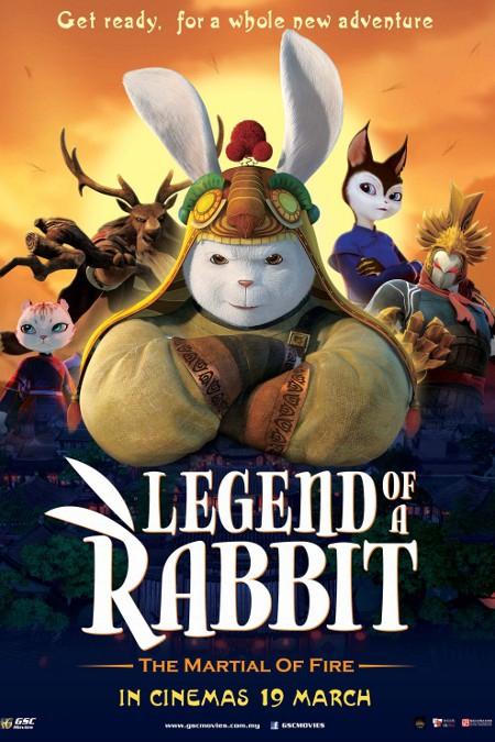 Legend of a Rabbit: The Martial of Fire (2015) กระต่ายกังฟู จอมยุทธขนปุย HD