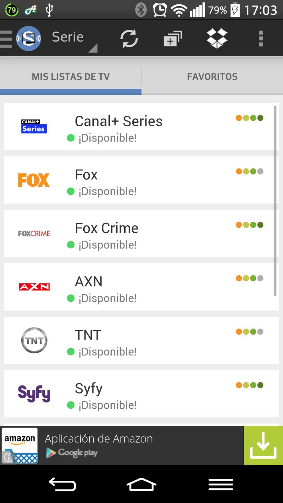 Aplicación para ver la televisión gratis en tu Android.