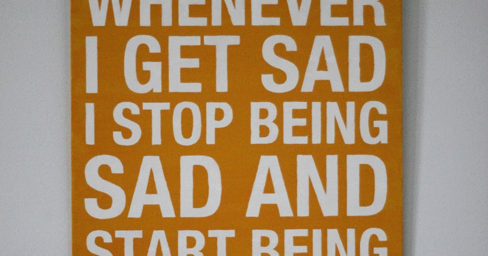 how to stop being sad for no reason