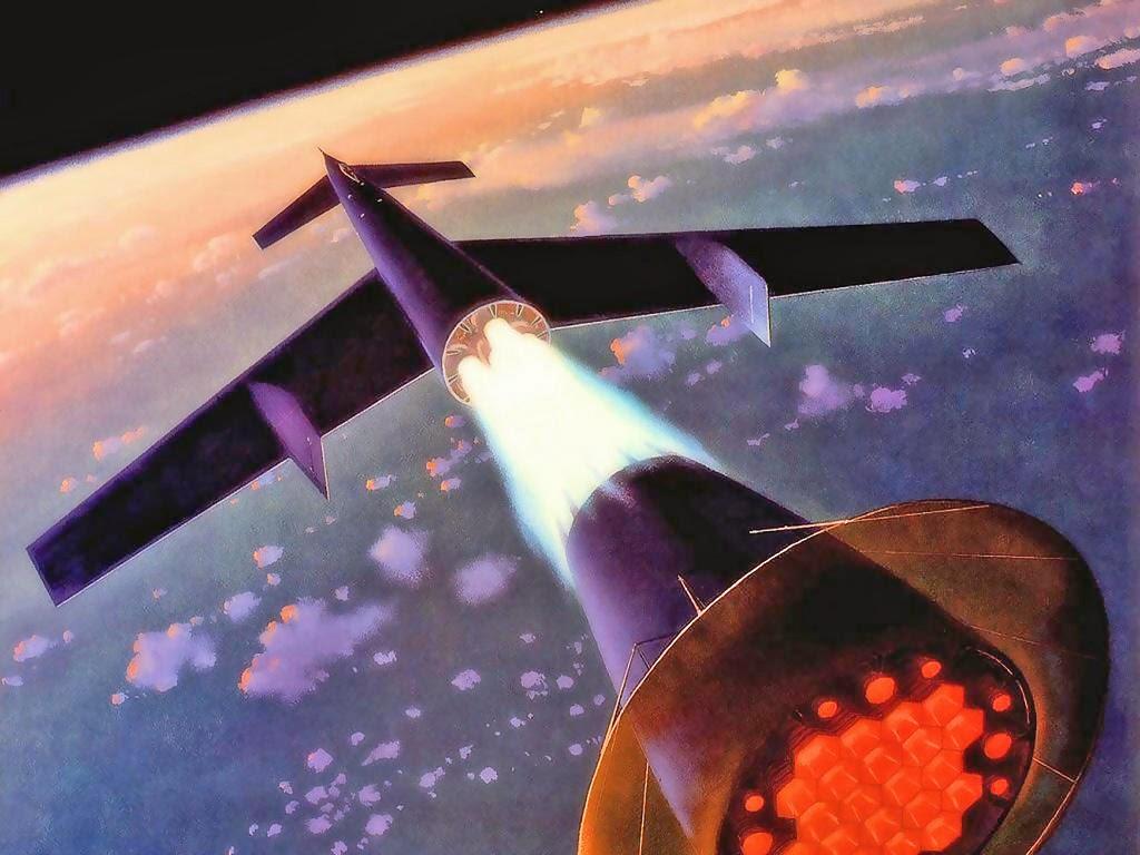 Chesley Bonestell Ilustración del espacio