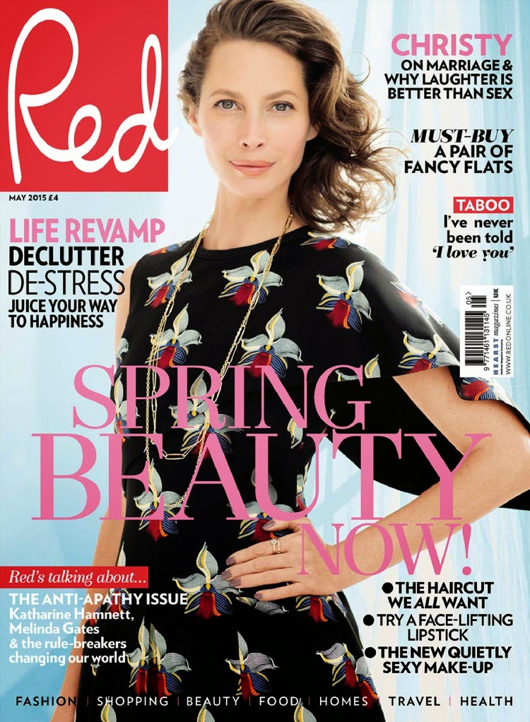 Fashion Model @ Christy Turlington - Red UK, May 2015