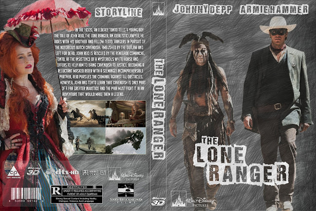 Capa Bluray The Lone Ranger