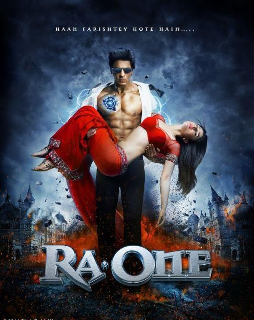 Official poster of Ra.One movie photos