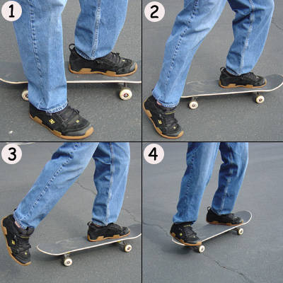 Skateboard around the world: How to Ride a Skateboard ...