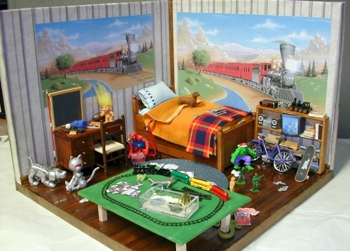 Cool Little Boy Toys : Dormitorios con temas para niÑos estilo