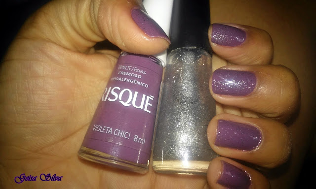 Unhas da semana #14: Esmalte Violeta chic, Risqué