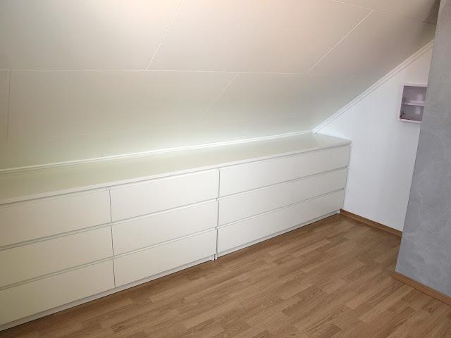De forrige eierne av huset lot en hel haug med Malm kommoder (Ikea ...