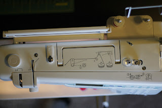 How to Thread a sewing machine step by step « Sewing  Embroidery