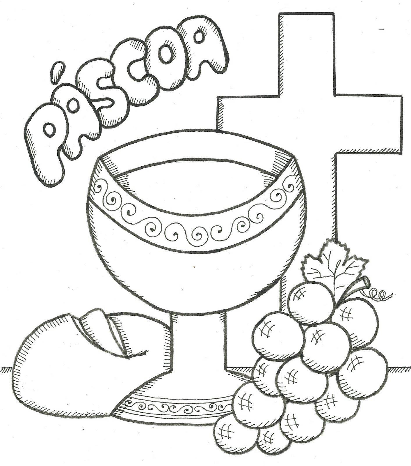 Conbina Para Quem Vai Ensinar Sobre Os Simbolos Da P  Scoa Crist