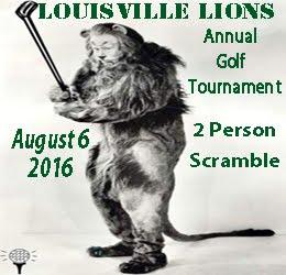 Louisville Lions Club Golf Tournament