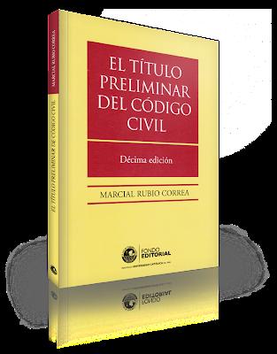 El Título Preliminar del Código Civil - Marcial Rubio Correa
