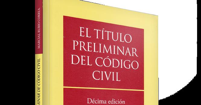 El T U00edtulo Preliminar Del C U00f3digo Civil