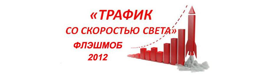 "Флэшмоб 2012  ""Трафик со скоростью света"""