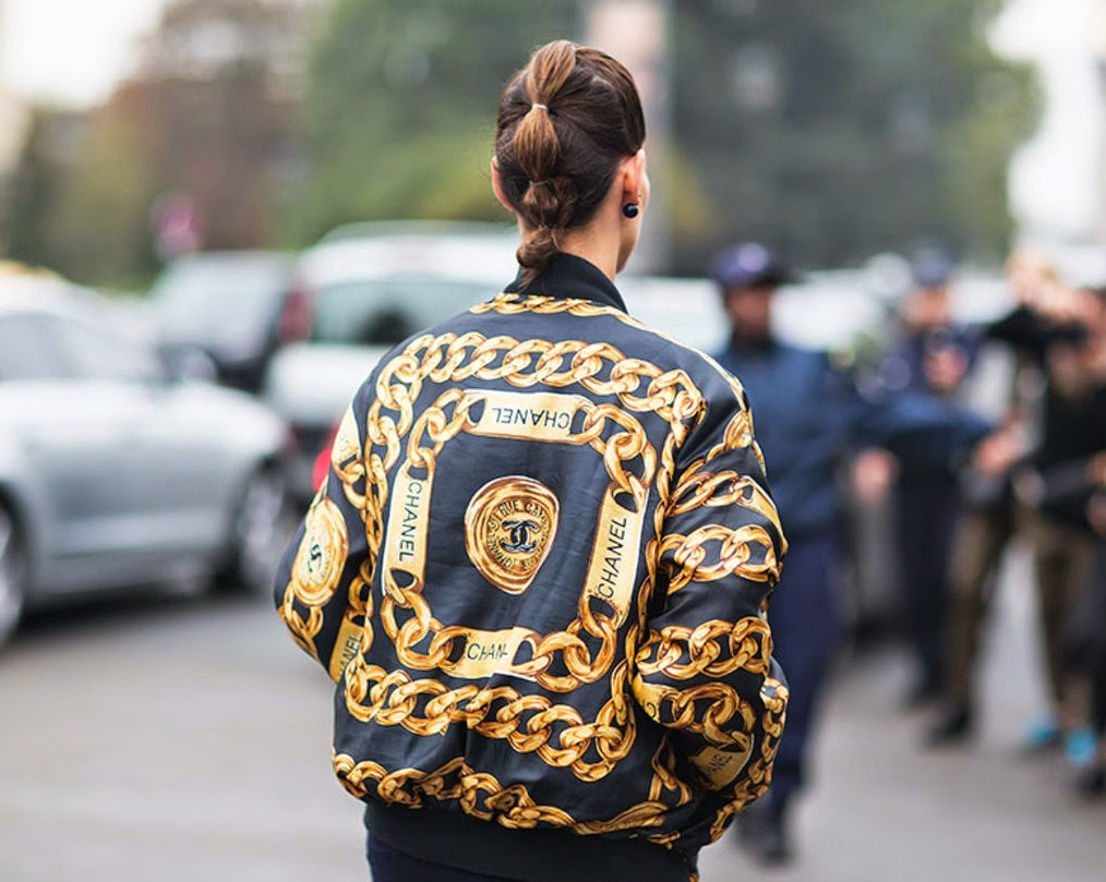 Bomber jackets-street style-chanel