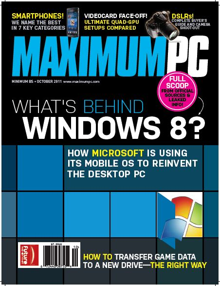 Maximum PC Magazine - October 2011