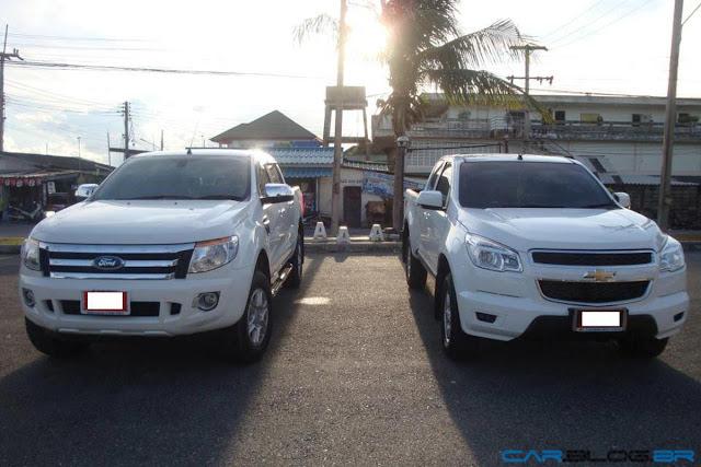 Nova Ranger 2013 x Chevrolet S-10