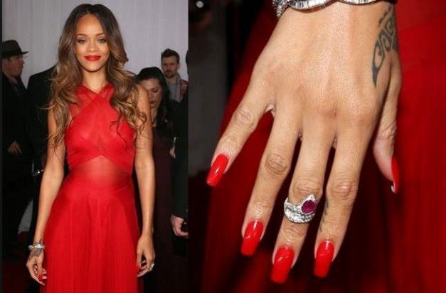 Rihanna paga para cuidar sus uñas esta modica suma $$