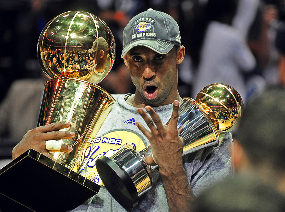 2009 NBA Finals - Kobe Bryant 4 rings